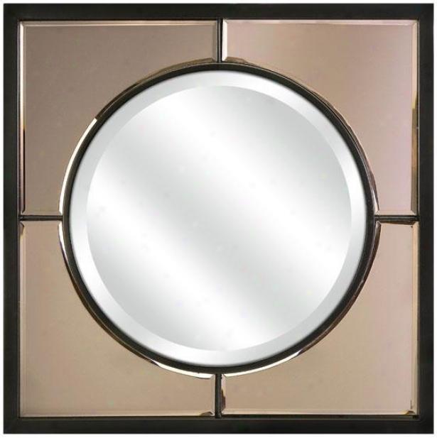 """""""facets Mirror - 22""""""""hx23""""""""w, Copper"""""""