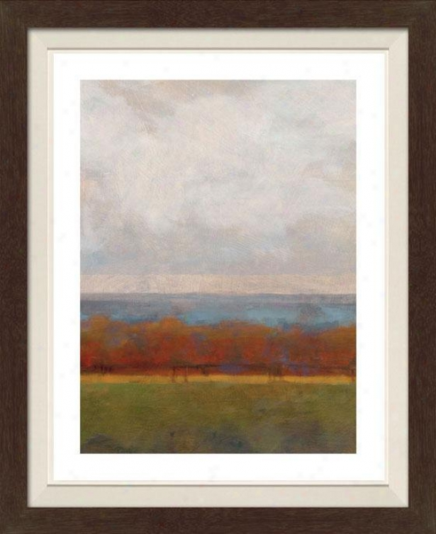 Fall Colors I Framed Wall Art - I, Fltd Espresso