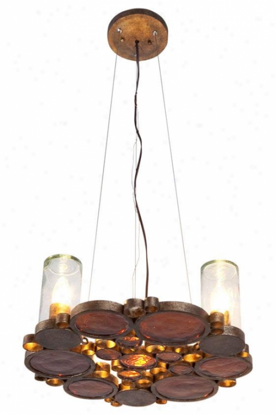 Fasconator Chandelier - 3 Light, Kolorado