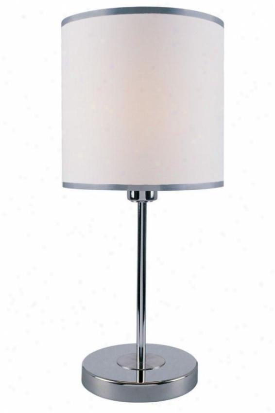 """fayola Synopsis Lamp - 20.25""""h X 9""""w, White"""