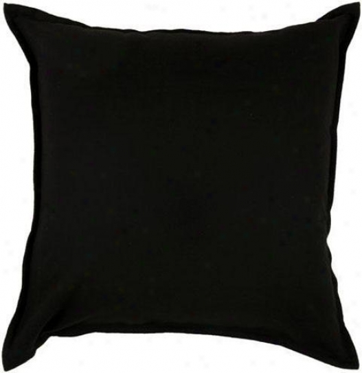 """fi1more 20"""" Square Pillow - 20""""x20"""", Negro"""