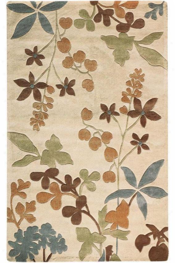Foliage I Rug - 2'x3', Beige