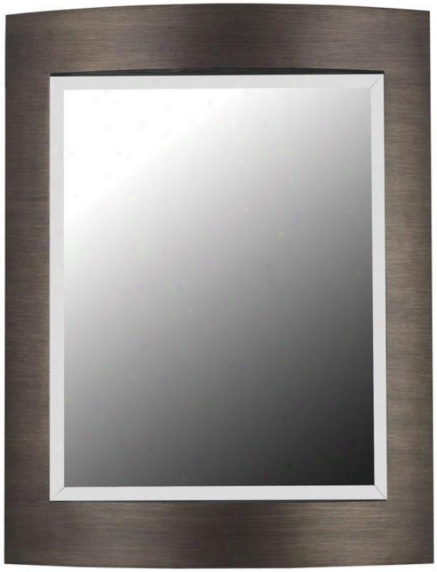 """""""folsom Wall Mirror - 35""""""""hx28""""""""w, Bronze"""""""