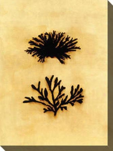 Formations I Canvas Wall Art - I, Yellow