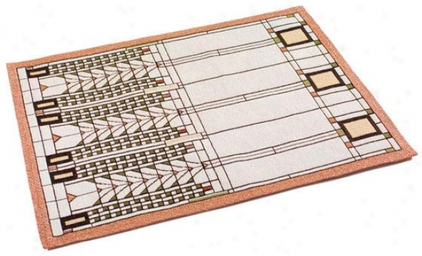Frank Lloyd Wright  Tree Of Life Table Linens - Placemats/4, Decay Mullti
