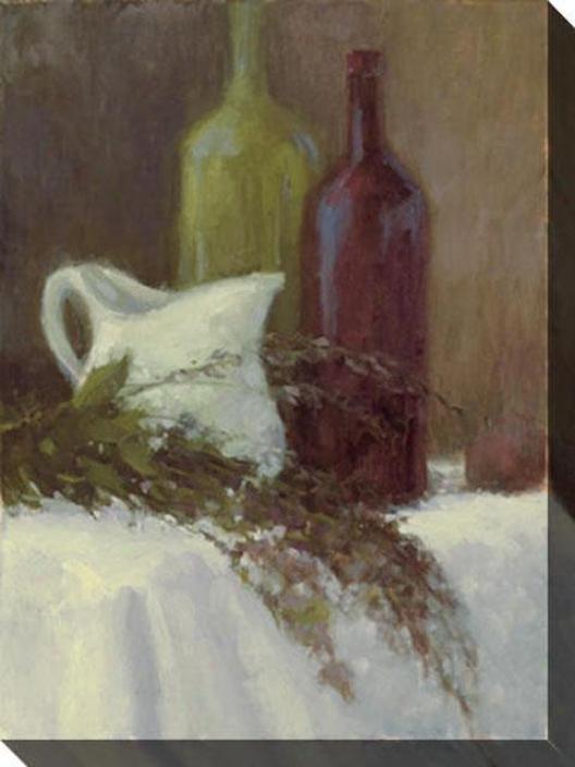 Fresh From The Garden I Canvas Wall Art - I, White