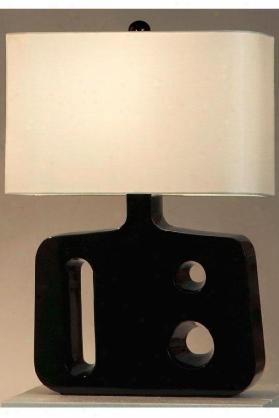 """""""friend Reclining Table Lamp - 22h X 16""""""""w, Black"""""""