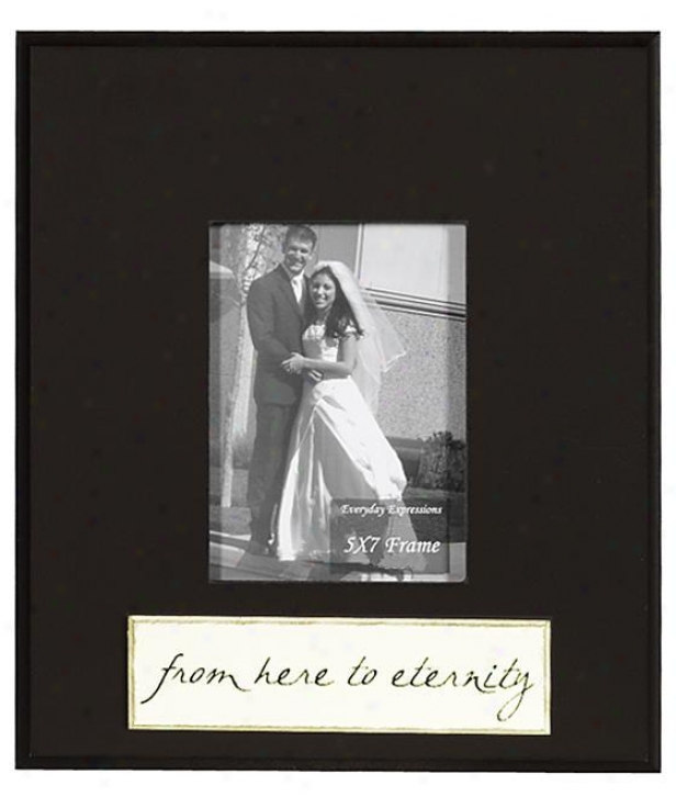 From Here To Eternity Frame - 5 X 7 - 5x7, Black