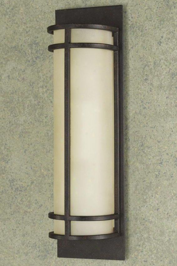 Liquefaction  Vanity Light - Two Light, Grecian Bronze