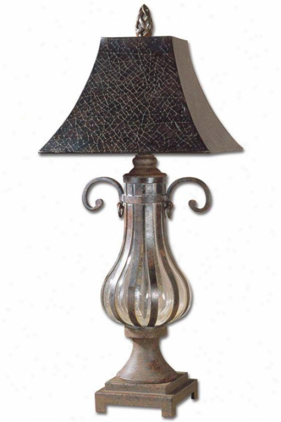"""galeana 1-light Table Lamp - 36""""h, Bronze"""