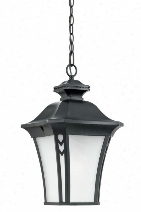 """gatehouse Outdoor Hanging Lantern - 21""""h, Black"""
