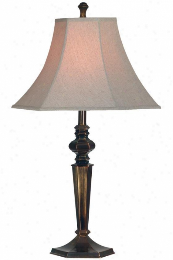 """georgetown Table Lamp Ii - 32""""h, Bronz""e"