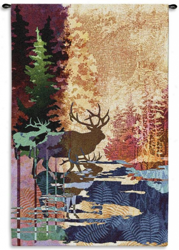 Ghosts Of The Tall Timbers Tapestry - Large, Mullti