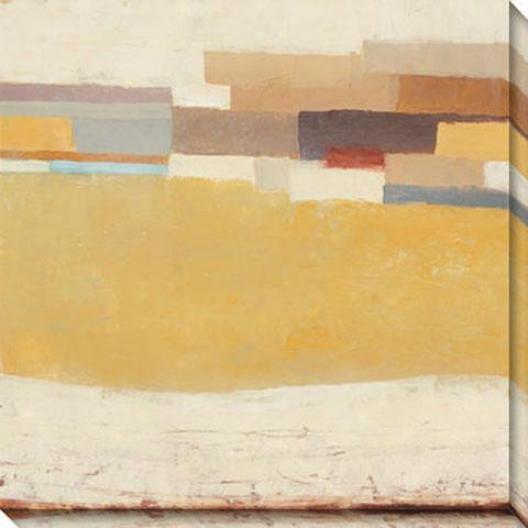 Bright Mesa I Canvas Wall Skill - I, Yellow