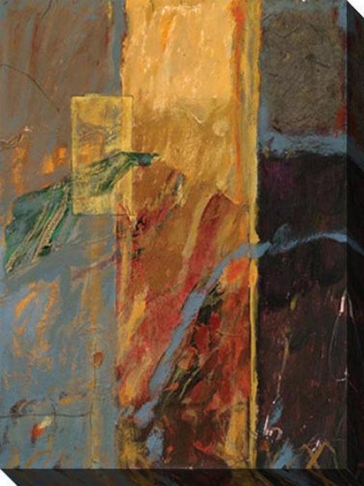 Grace Iv Canvas Wall Art - Iv, Gold