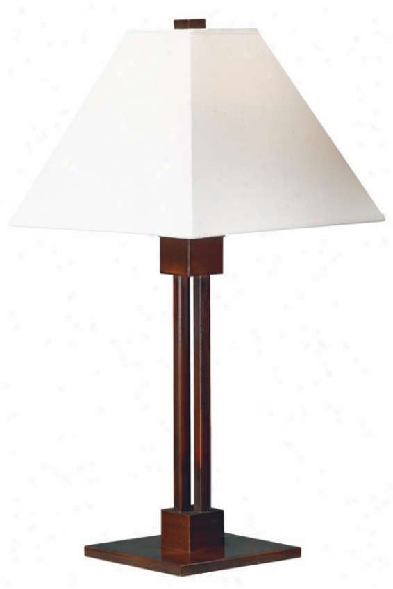 """grafton Table Lamp - 26""""h, Bronze"""