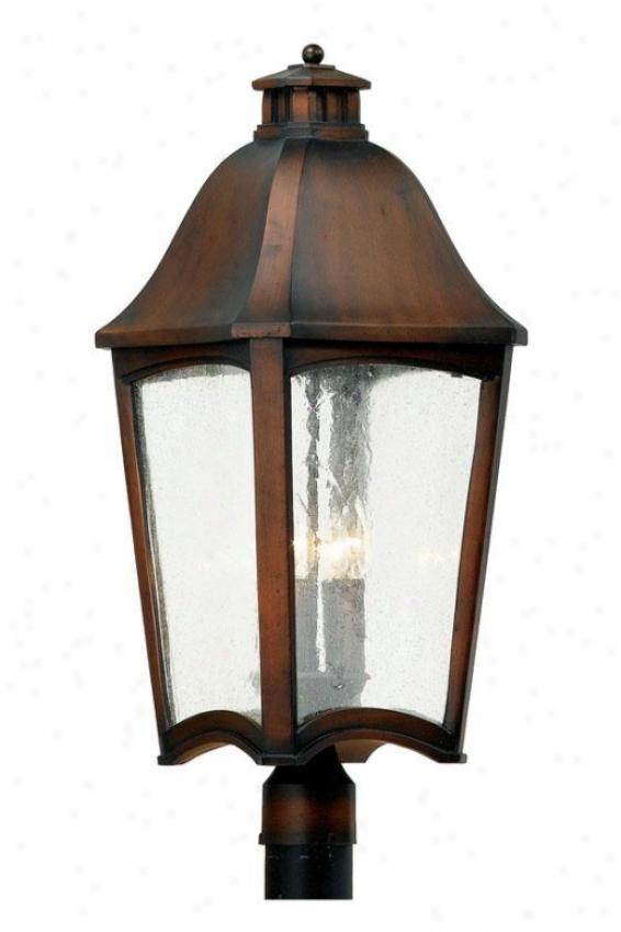 """""""gresham Outdoor Post Lantern - 27""""""""h, Copper"""""""