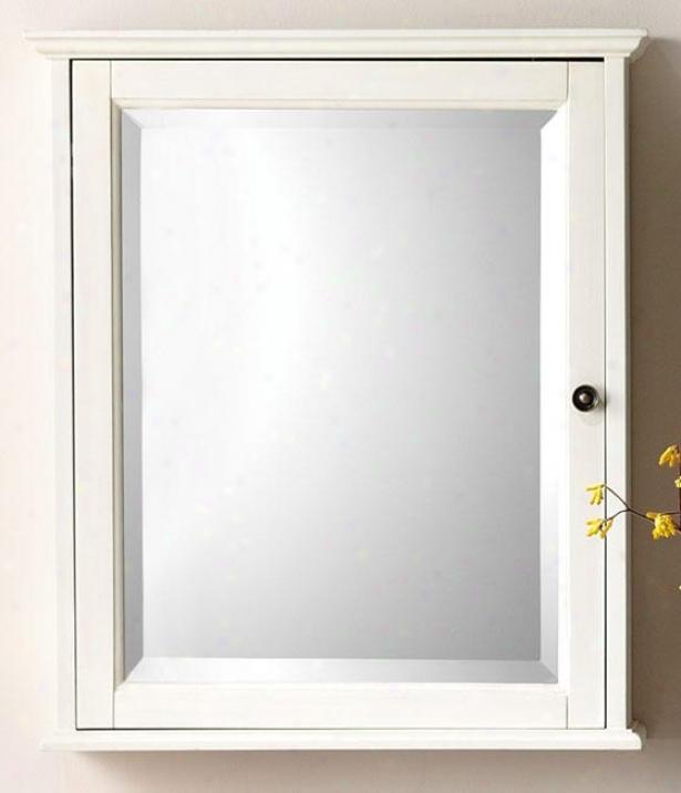 """""""hamiltonM irrored Cabinet - 27""""""""hx23.5""""""""w, White"""""""