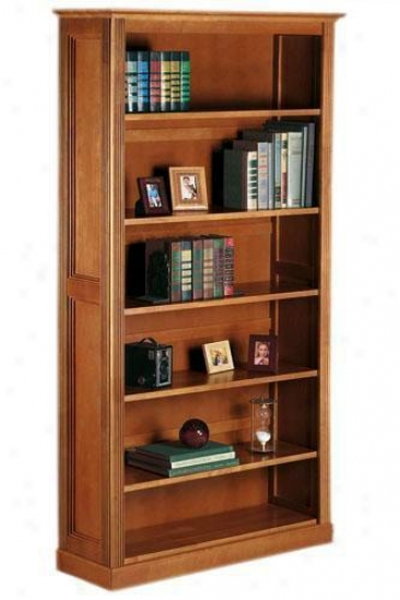 Hamilton Wide 6-shelf Bookcase - Wide Six-shelf, Beige