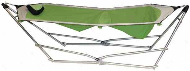 Hammock Recliner - Green - 10hx10wx54d, Green Grey