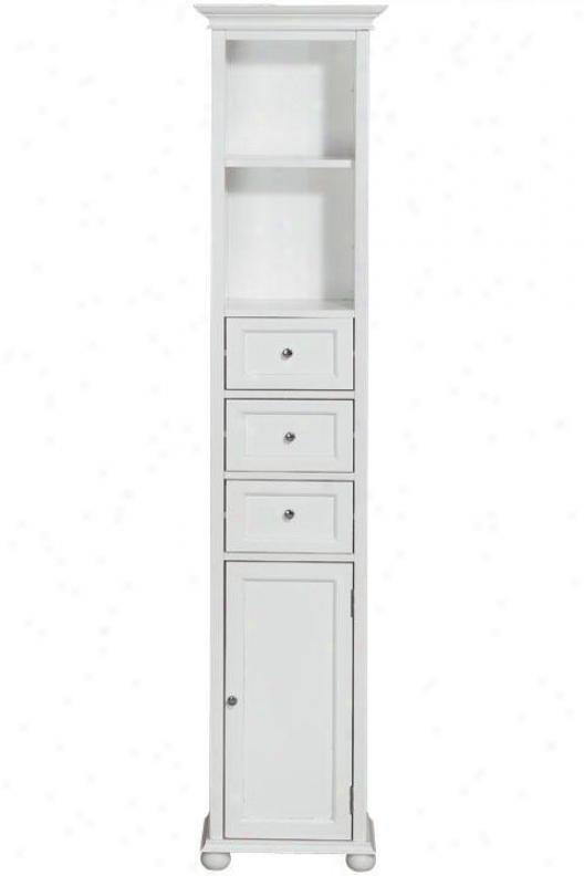 """""""hampton Bay 15""""""""w Standard Linen Storage Cabinet - 15""""""""w, White"""""""