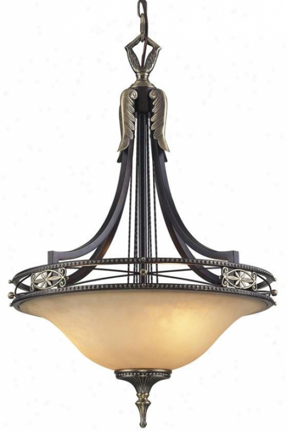 """hanover 32""""h Pendant - 3-light, Antbrz Dklumber"""