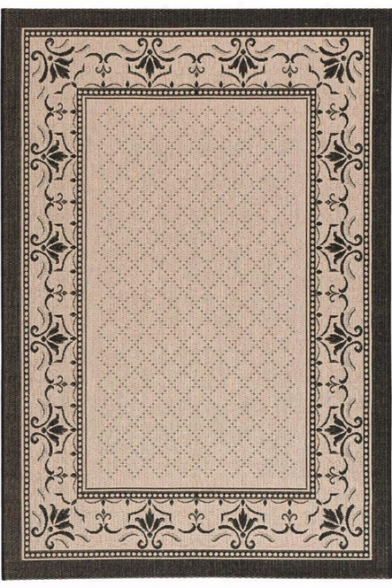 """harbor All-weather Area Rug - 2x3'7"""", Beige"""