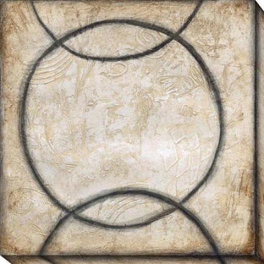 Harmony And Balance Iii Canvas Wall Art - Iii, Black