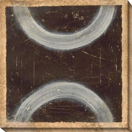 Adaptation And Balance V Canvad Wall Art - V, Black