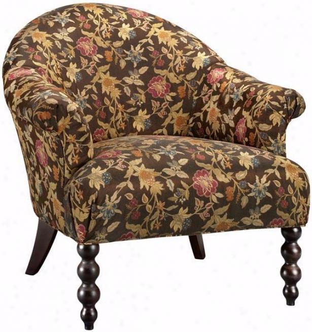 """""""harper Arm Chair - 37""""""""hx37""""""""w, Brown"""""""