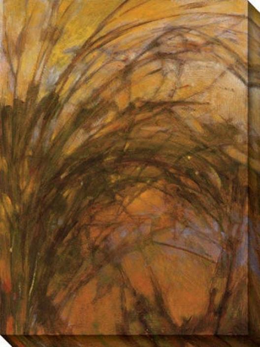 Harvest Ii Canvas Wall Art - Ii, Brosn