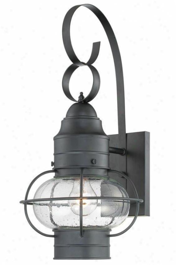 Hayes Outdoor Wall Lantern - Medium, Copper
