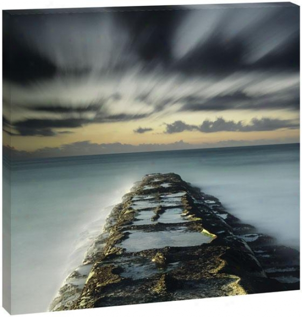Heavwnly Skies Wall Art - 42hz42wx1.5d, Blue