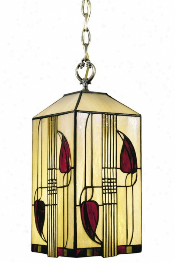 Henderson 1-light Antique Bronze Hanging Fixture - 1 Light, Bronze