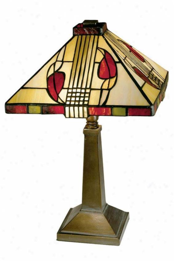 """henderson 15"""" Table Lamp - 15h X 10""""d, Bronze"""