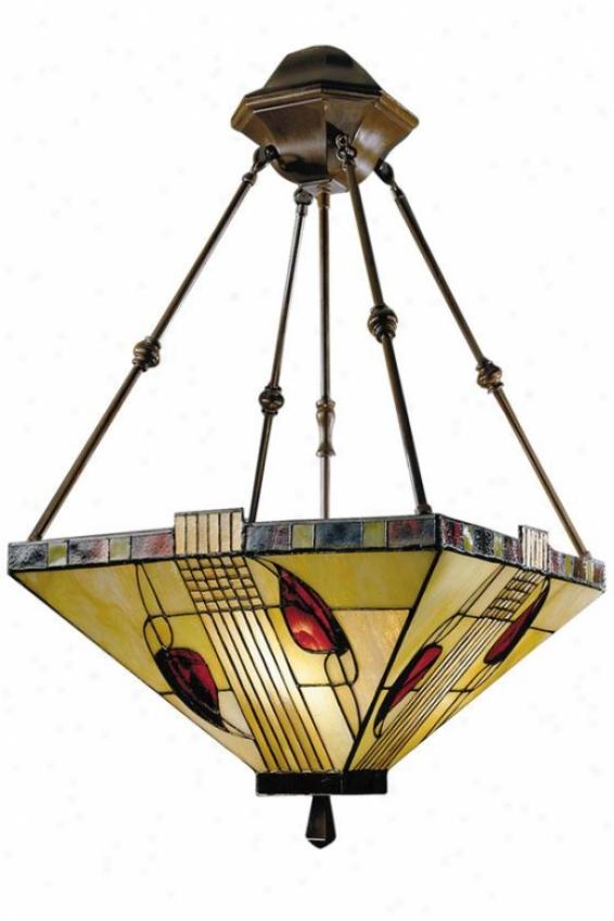Henderson 3-light Antique Bronze Hanging Fixture - 3 Light, Bronze