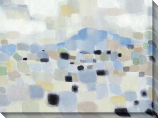 High Sierra I Canvas Wall Art - I, Azure