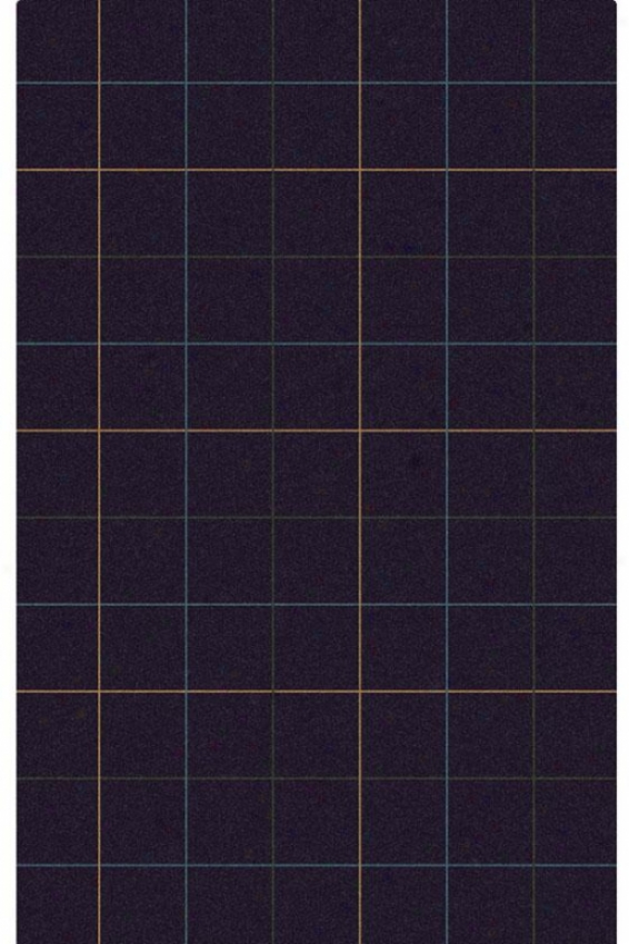 """highlander Area Rug - 5'3""""x8', Navy Blue"""