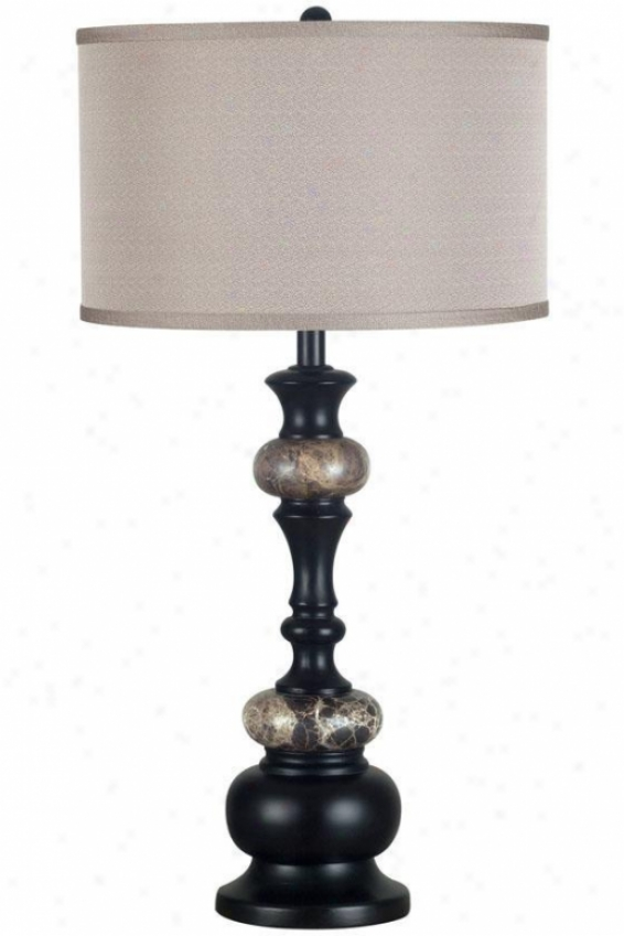 """""""hobart Table Lamp  -31""""""""h, Oil Rubbed Bronze"""""""