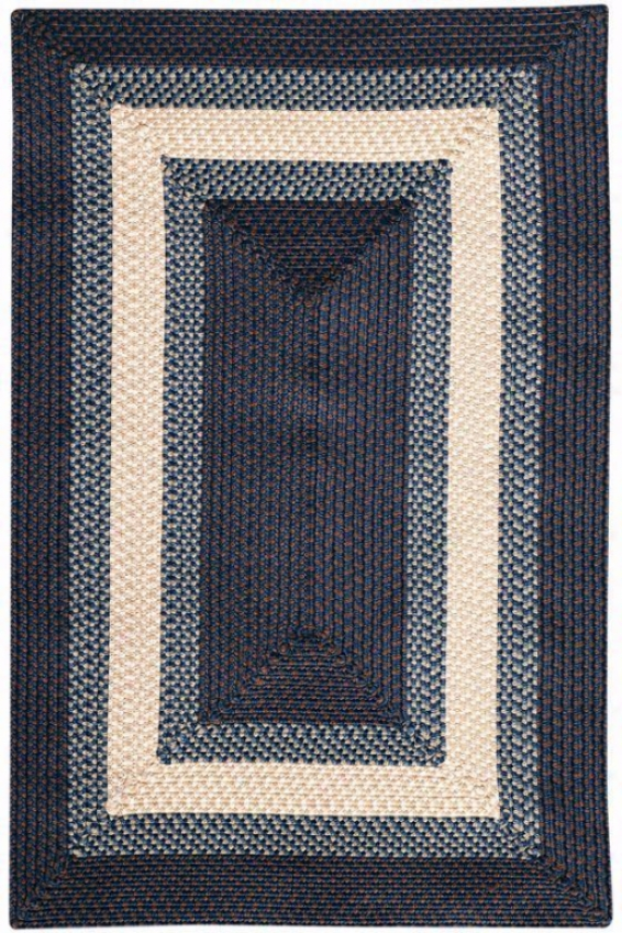 Homestyle Rug - 3'square, Blue
