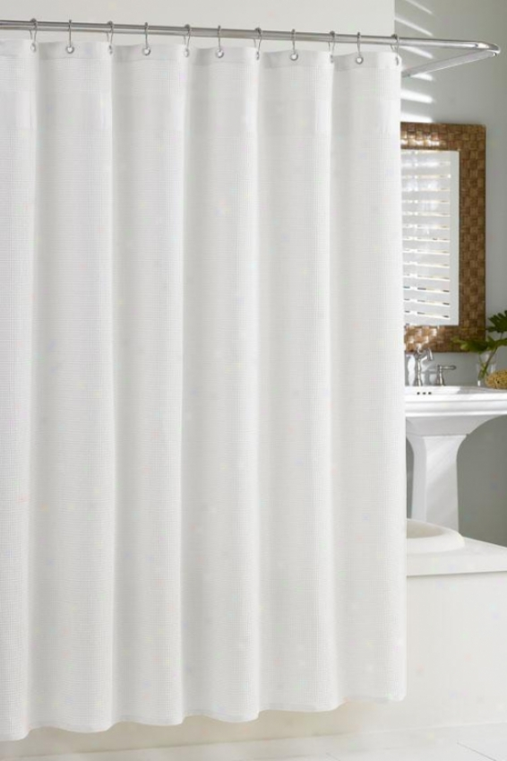 """""""hotel Collection Syower Curtain - 72""""""""hx72""""""""w, White"""""""
