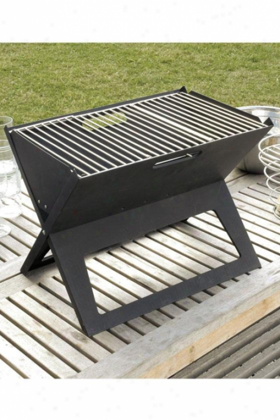 Hotspot Notebook Charcoal Grill - 14.18hx11.82wx, Black