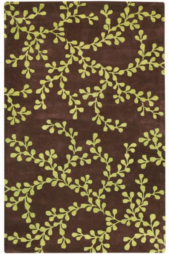 """idyllic Area Rug - 9'6""""x13'6"""", Brown"""