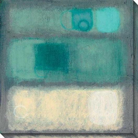 Illusion Ii Canvas Waall Art - Ii, Blue