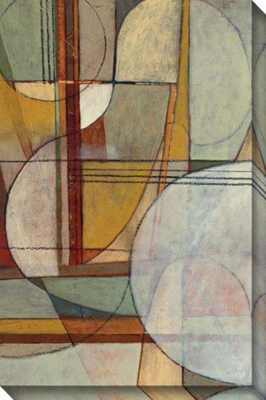 Inclination Ii Canvas Wall Art - Ii, Brown