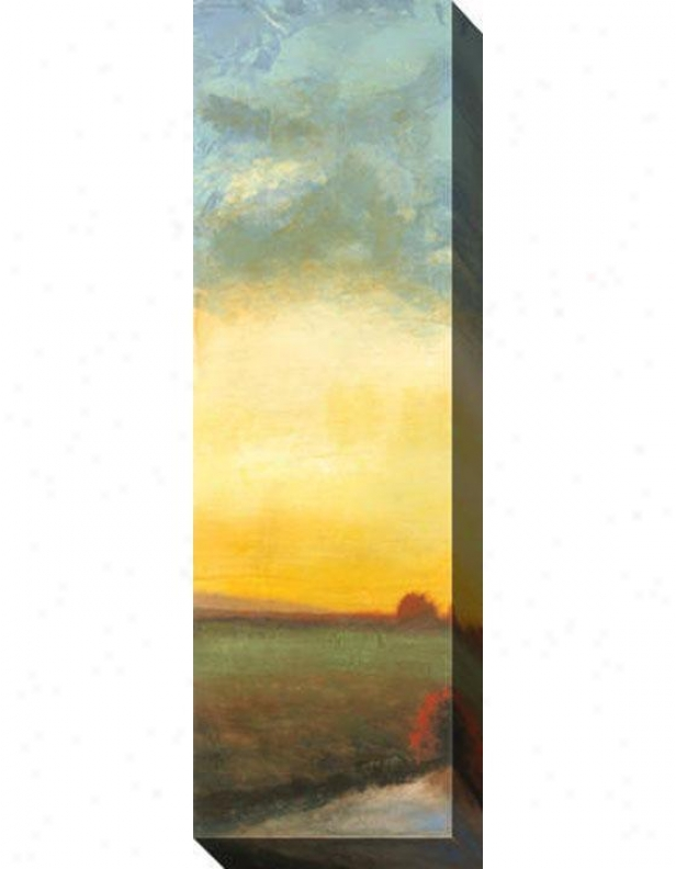 Indian Summer I Canvas Wall Art - I, Yellow