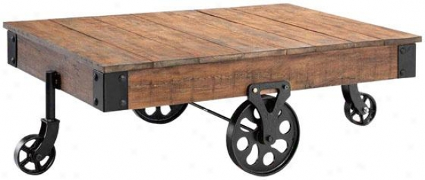 """""""industrial Maison Coffee Table - 31""""""""x47"""""""", Distressed"""""""