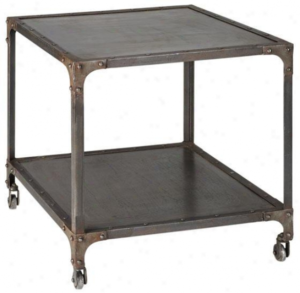 Industrial Side End Table Home Decorators Colldctiln Accent End Tables