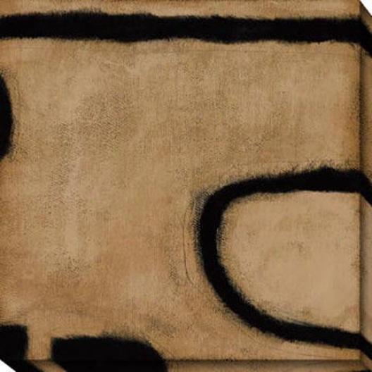 Insight I Canvas Wall Art - I, Brown