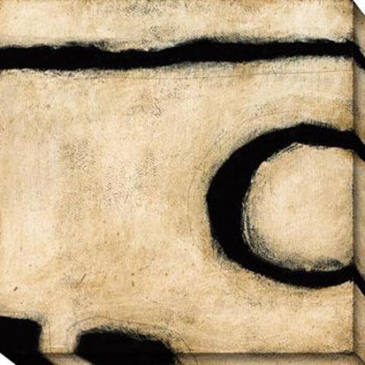 Insight Iv Canvas Wall Art - Iv, White